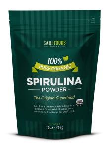 Organic Spirulina Powder by Sari Foods